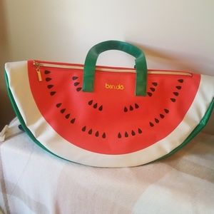 Ban.do watermelon tote bag cooler beach bag